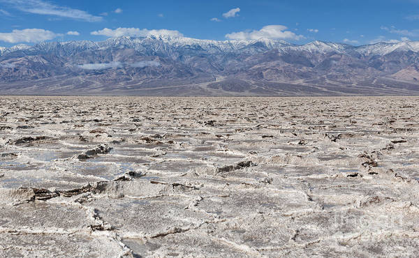 Wall Art - Photograph - Badwater Basin - Death Valley by Sandra Bronstein