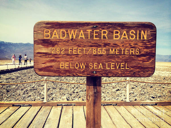 Death Valley Photograph - Badwater by Colin and Linda McKie