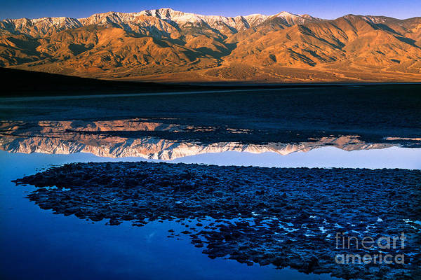 Death Valley National Park Photograph - Badwater by Inge Johnsson
