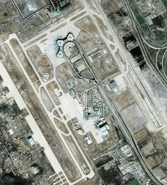 Baghdad Wall Art - Photograph - Baghdad International Airport by Geoeye/science Photo Library