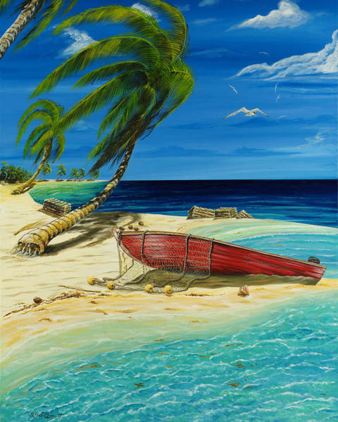 Painting - Bahama Beach by Steve Ozment