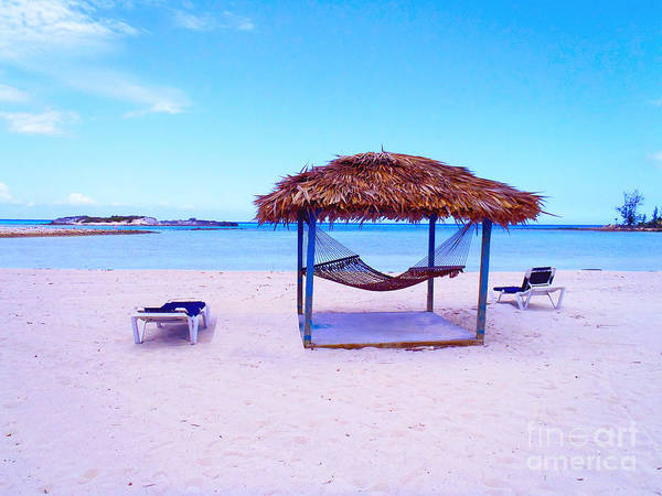Cuba Photograph - Bahama Hut by Carey Chen