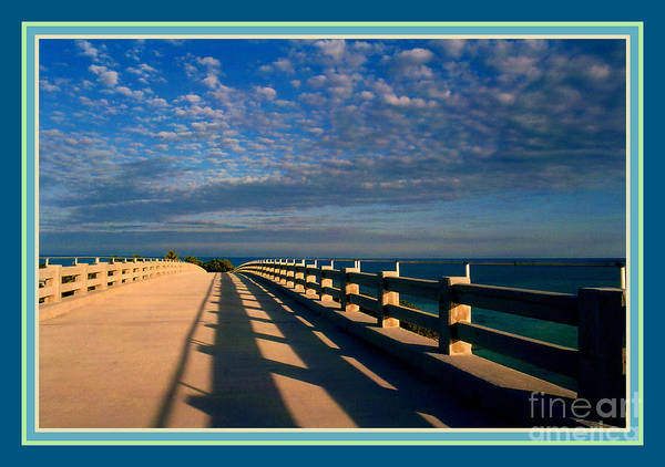 Photograph - Bahia Honda Bridge In The Florida Keys by Susanne Van Hulst