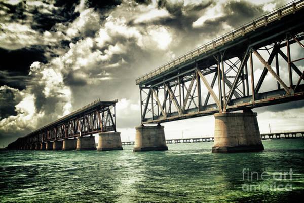Bahia Honda Photograph - Bahia Honda Bridge by Scott Bert