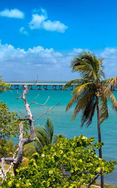 Flagler Photograph - Bahia Honda Lookout by John M Bailey