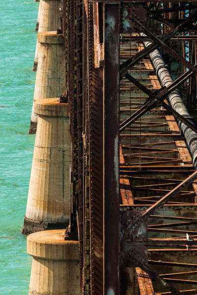 Photograph - Bahia Honda Steel And Concrete by Ed Gleichman