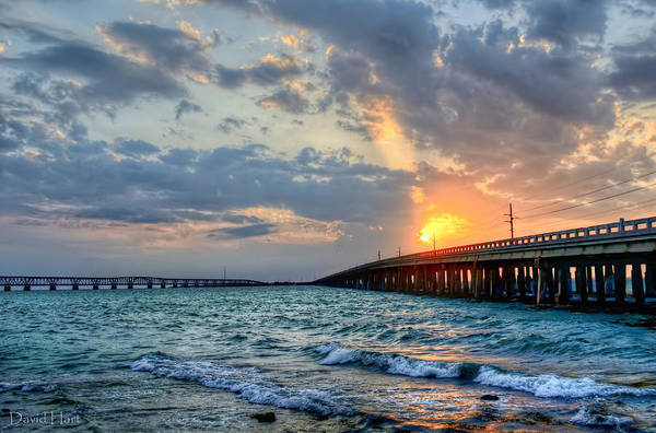 Bahia Honda Sunset Art Print