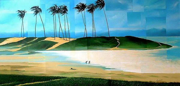 Painting - Bahia by Laurend Doumba