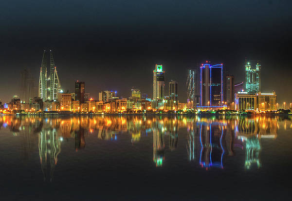 Bahrain Photograph - Bahrain Glitters by Wajahat