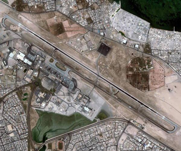Bahrain Photograph - Bahrain International Airport by Geoeye/science Photo Library