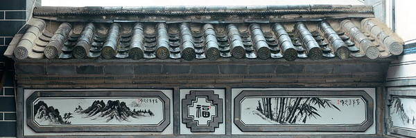 Photograph - Bai Style Architecture by Songquan Deng