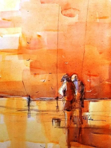 Saltwater Painting - Bait Bucket by Robert Yonke