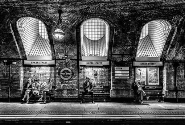 Commute Photograph - Baker Street by Marc Pelissier