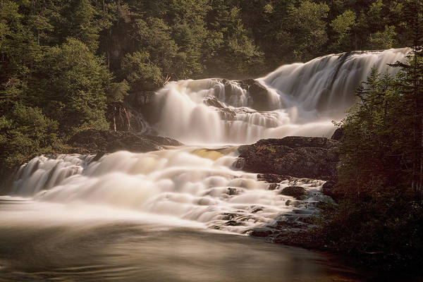 Gros Morne Photograph - Bakers Brook Falls by Eunice Gibb