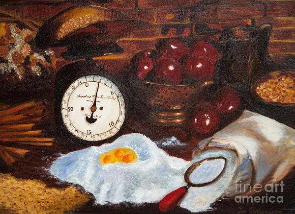 Wall Art - Painting - Baking From Scratch by Iris Richardson