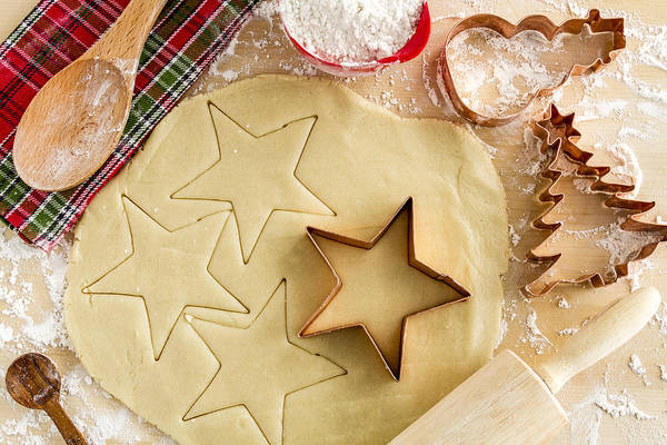 Photograph - Baking Holiday Cookies by Teri Virbickis