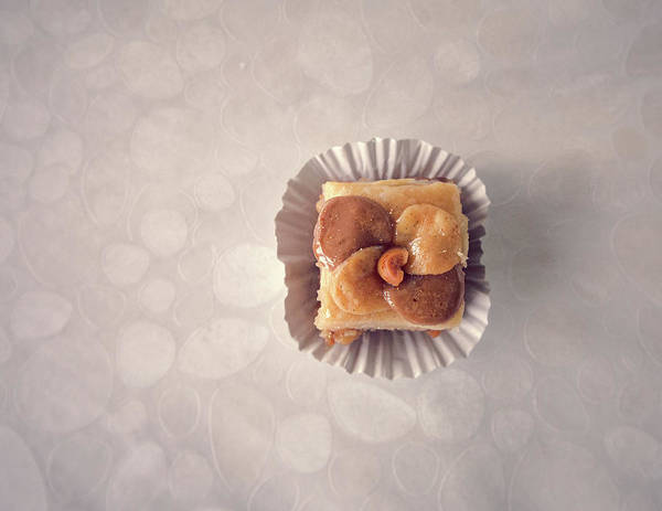 Time Frame Photograph - Baklawa With Almonds by Samere Fahim Photography
