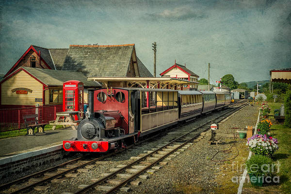 Gauge Photograph - Bala Lake Railway by Adrian Evans