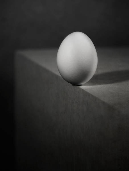 Egg Photograph - Balance by Louis-philippe Provost
