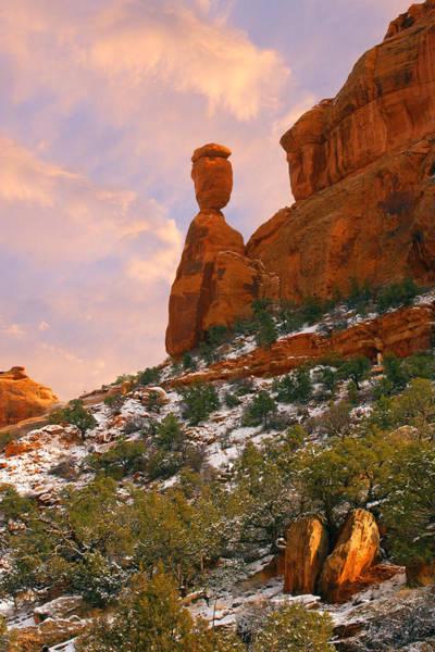 Photograph - Balanced Rock by Rick Wicker