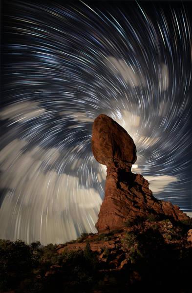 Wall Art - Photograph - Balanced Rock Vortex by Mike Berenson