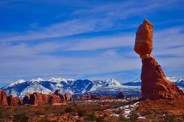 Photograph - Balanced Rock by Walt Sterneman