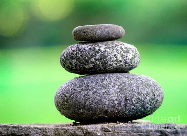 Photograph - Balancing Rocks by Karen Adams