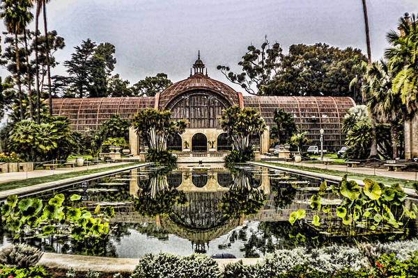 Digital Art - Balboa Park Botanical Building by Photographic Art by Russel Ray Photos