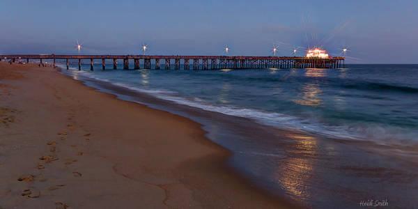 Wall Art - Photograph - Balboa Pier Sunset by Heidi Smith