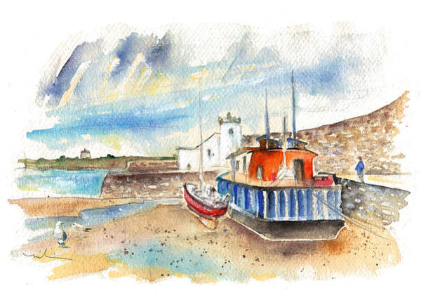 Painting - Balbriggan Harbour 01 by Miki De Goodaboom