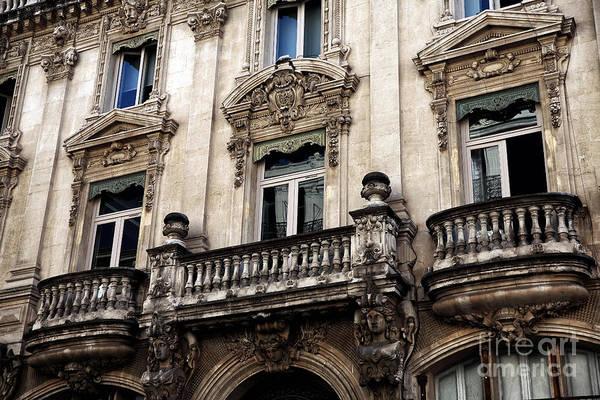 Photograph - Balconies In Avignon by John Rizzuto