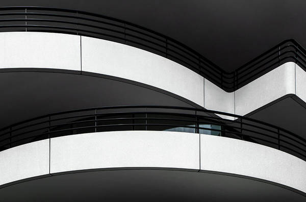 Balcony Photograph - Balcony Lines by Gilbert Claes
