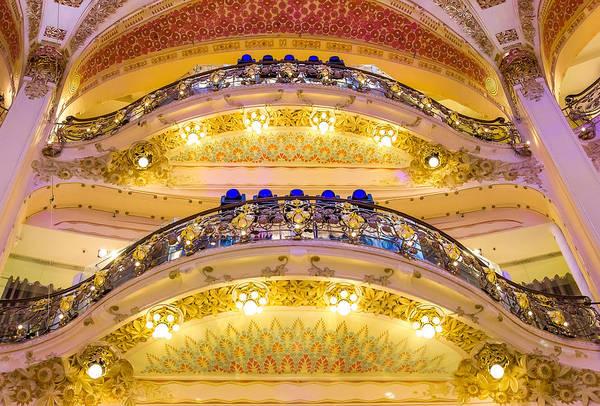 Galeries Lafayette Photograph - Balcony by Pati Photography