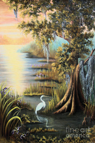 Bald Cypress Wall Art - Painting - Bald Cypress by Karry Degruise