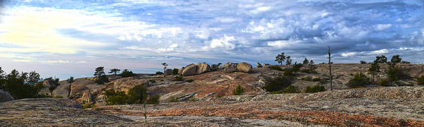 Glacial Erratic Photograph - Bald Rock Panorama by Frank Wilson