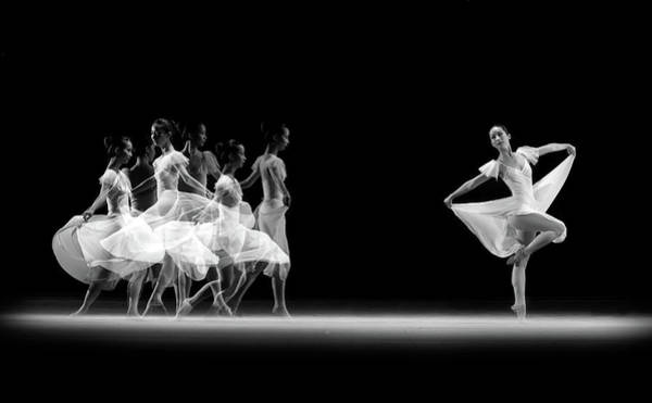Abe Photograph - Balerina Movement by Antonyus Bunjamin (abe)
