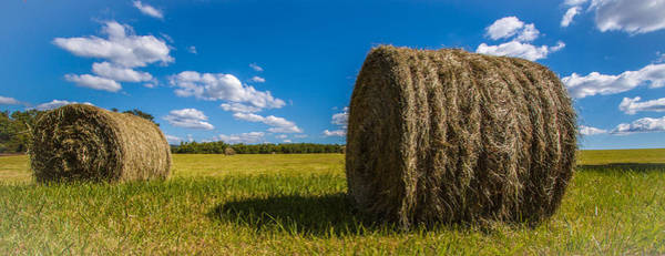 Somerset County Photograph - Bales Of Hay by Patricia Vesey