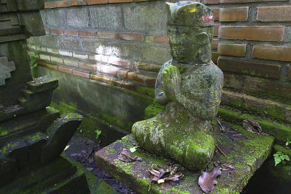 Balinese Praying Figure Art Print