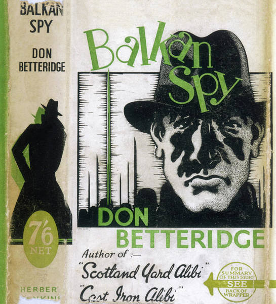 Wall Art - Drawing - 'balkan Spy'  By Don Betteridge by Mary Evans Picture Library