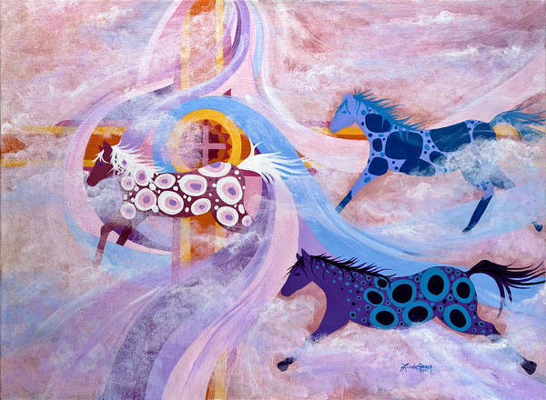 Painting - Ballad Of The Sun by Linda Rauch