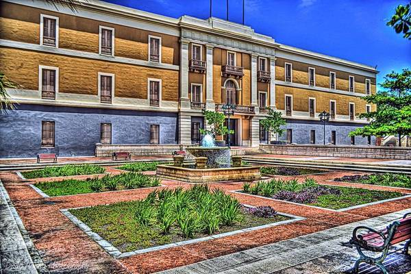 Puerto Rico Photograph - Ballaja Barracks Museum  by Dado Molina