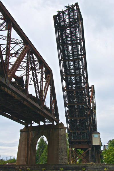 Ballard Wall Art - Photograph - Ballard Bridge by Steven Lapkin