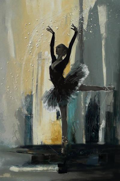 Catf Wall Art - Painting - Ballerina 18 by Mahnoor Shah