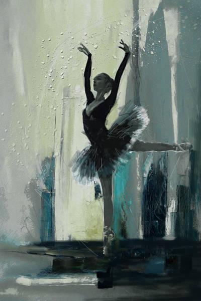 Catf Wall Art - Painting - Ballerina 19 by Mahnoor Shah
