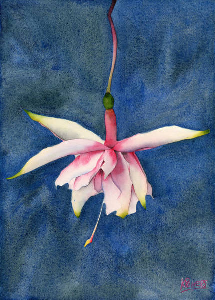 Painting - Ballerina Flower by Ken Powers