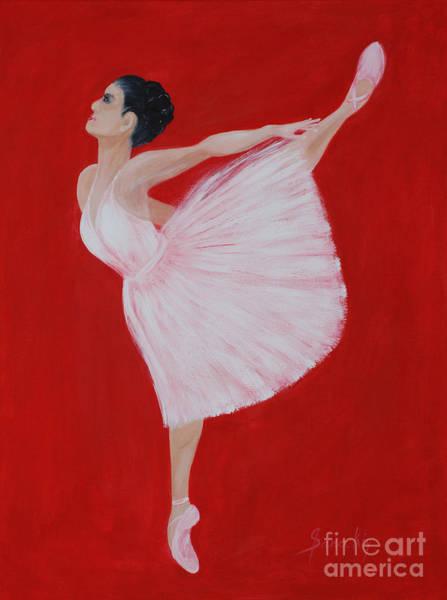 Painting - Ballerina by Oksana Semenchenko