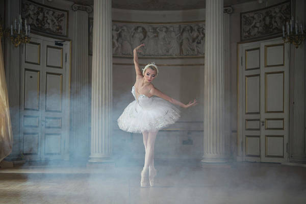 Ballerina Photograph - Ballerina by Michal Greenboim
