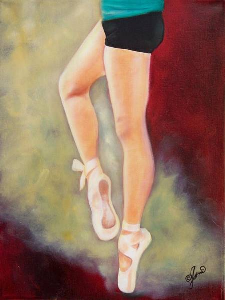 Painting - Ballerina Moves 2 by Joni McPherson