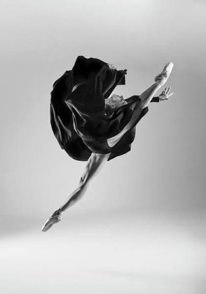 Wall Art - Photograph - Ballerina by Piotr Leczkowski