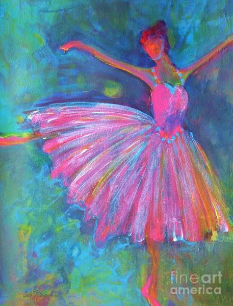 Dancers Wall Art - Painting - Ballet Bliss by Deb Magelssen